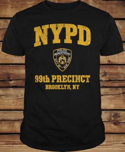 99th Precinct Brooklyn NY Police Department NYPD T-shirt
