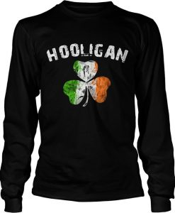 Hooligan Irish Shamrock Sweatshirt
