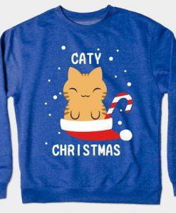 Christmas Cat Hoodie
