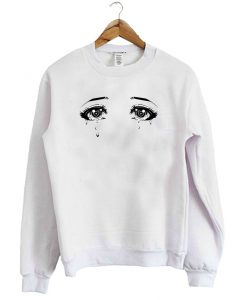 Anime Eyes Manga Japanese Sailor Moon Sweatshirt
