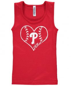 Girls Youth Philadelphia Phillies Tank-top