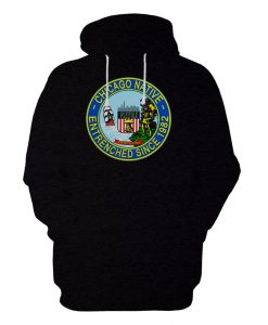 Chicago Native Entrenched Since 1982 Hoodie