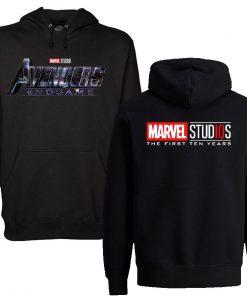 Avengers Endgame Black Hoodie