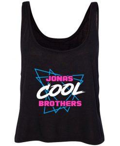 Jonas Brothers Cool Triangles Crop Tank-top