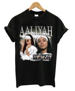 Aaliyah Homage Black T shirt
