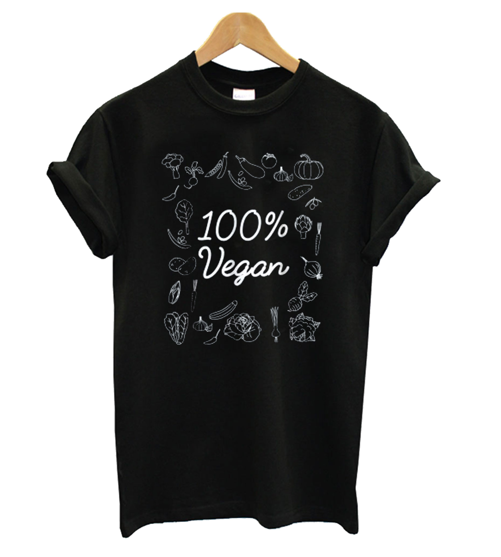 100% Pure Vegan T shirt