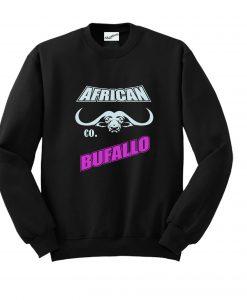 African Bufallo Sweatshirt