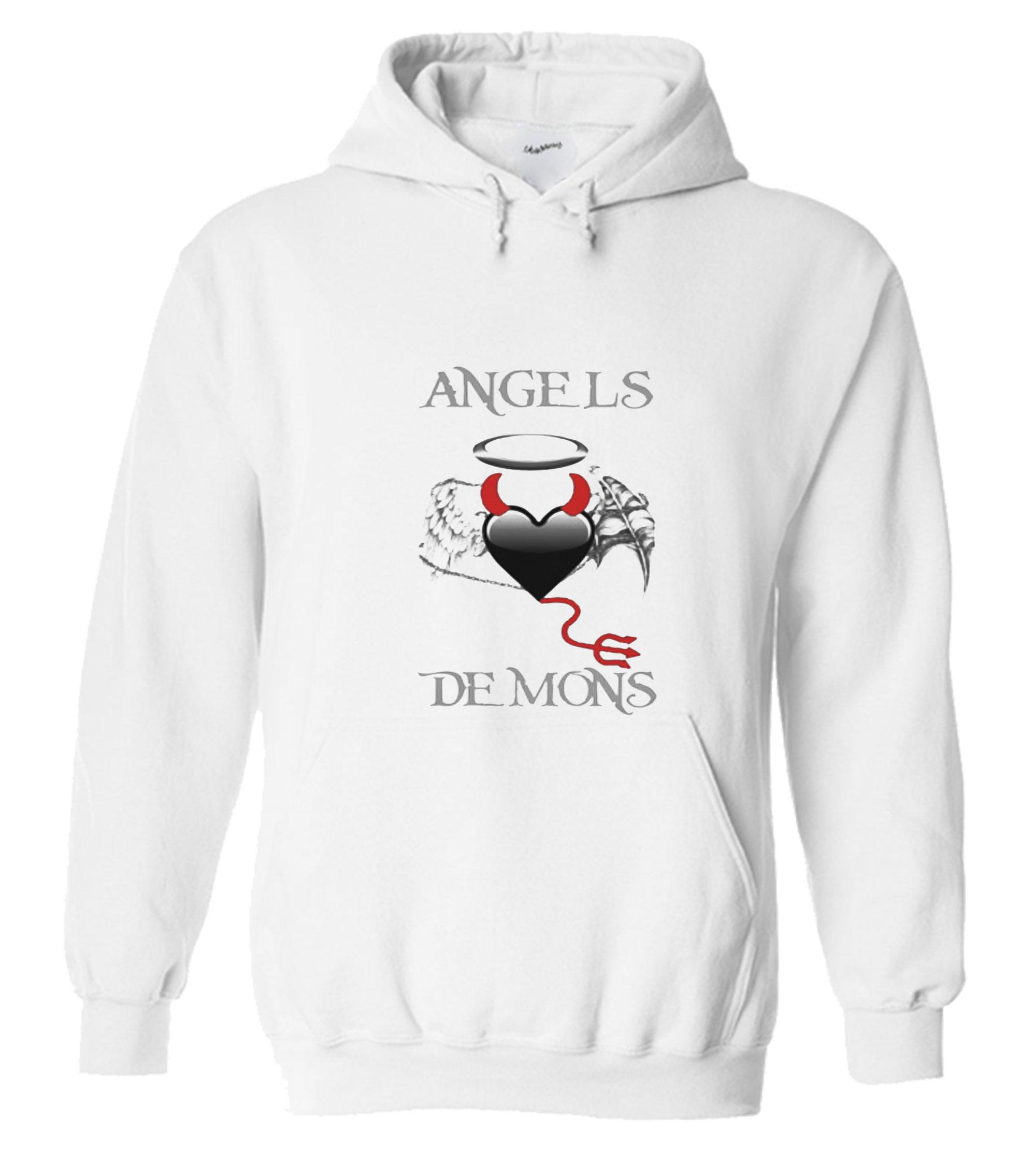 Angels Demons Hoodie