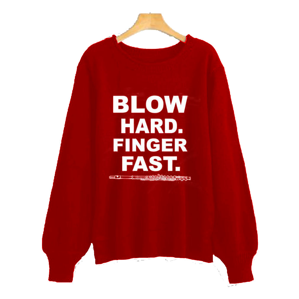 Blow Hard Finger Sweatshirt