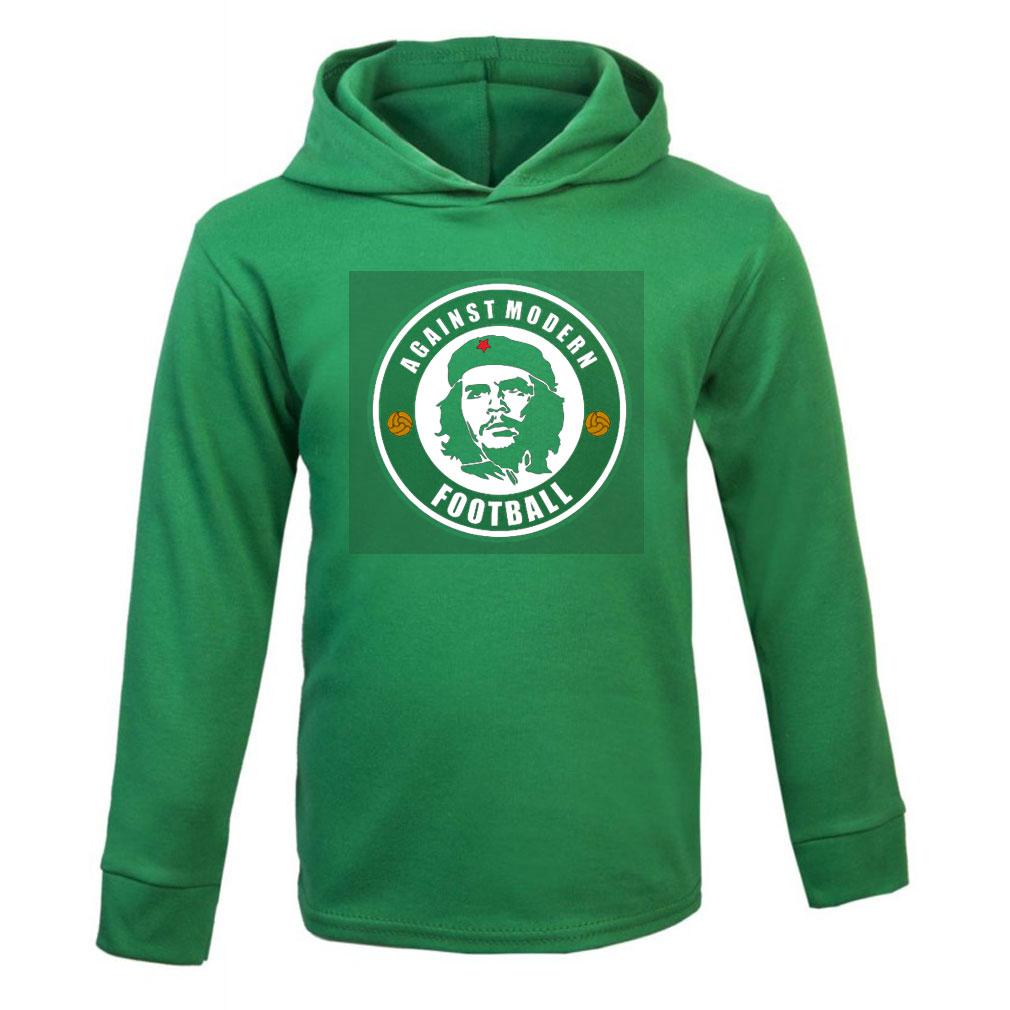 Emerald Green Cotton Hoodie
