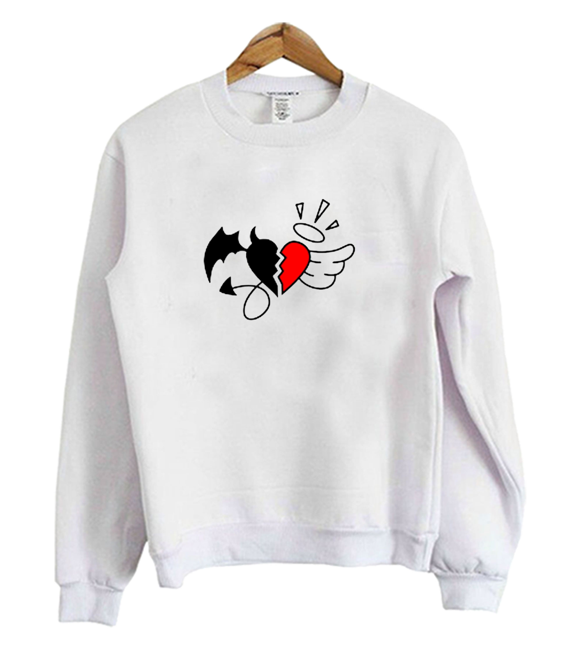 Heart angel Sweatshirt