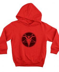 TST Logo Red Hoodie