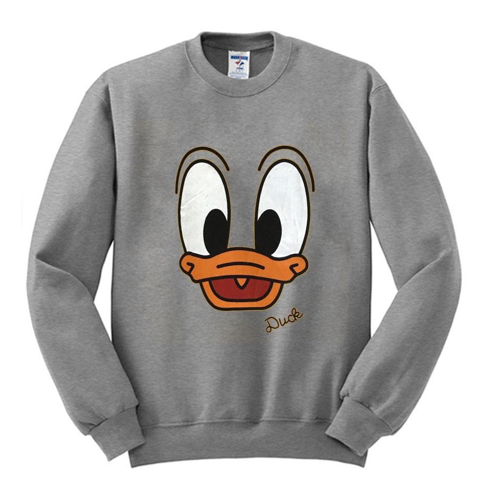 Vintage Duck Yellow Cartoon Sweatshirt