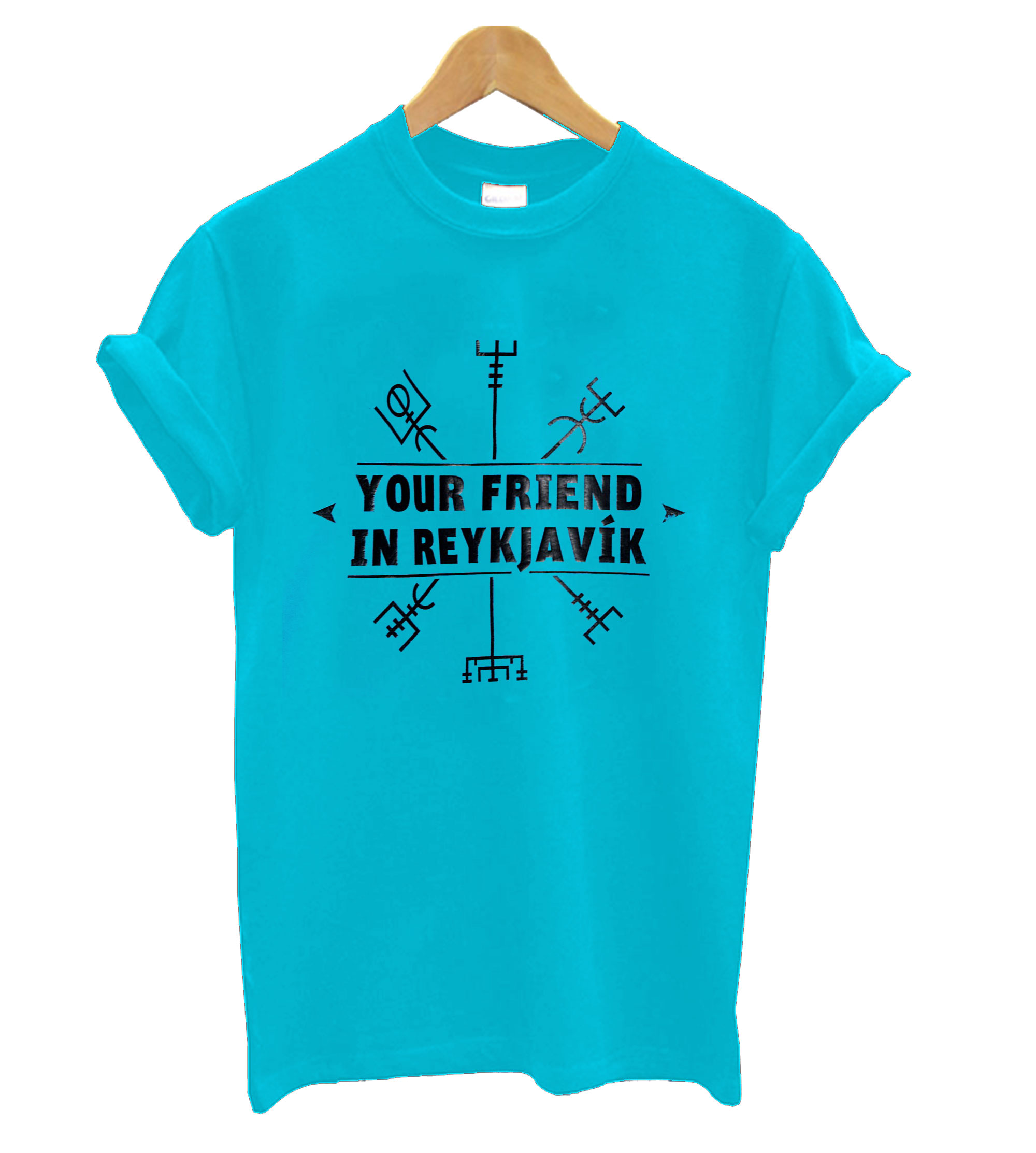 Your Friend In Reykjavik T Shirt