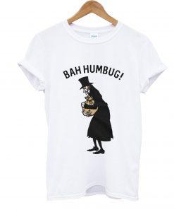A Christmas Carol Bah Humbug T Shirt