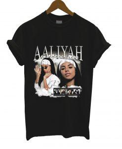 Aaliyah Homage T Shirt