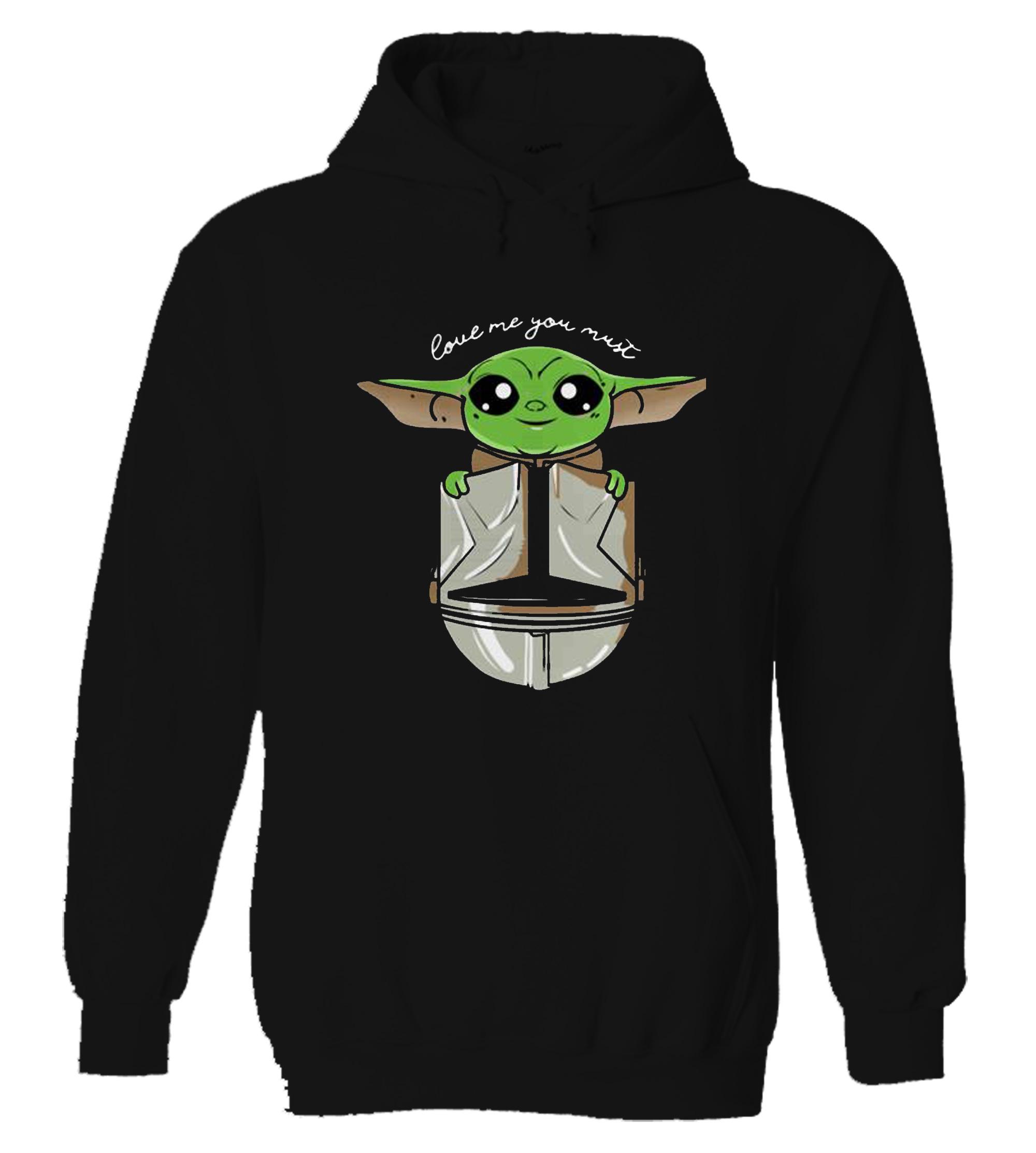 The Child little baby Yoda Mandalorian Hoodie