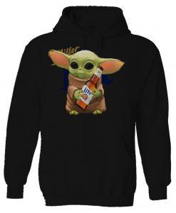 Baby Yoda hug Lite Hoodie