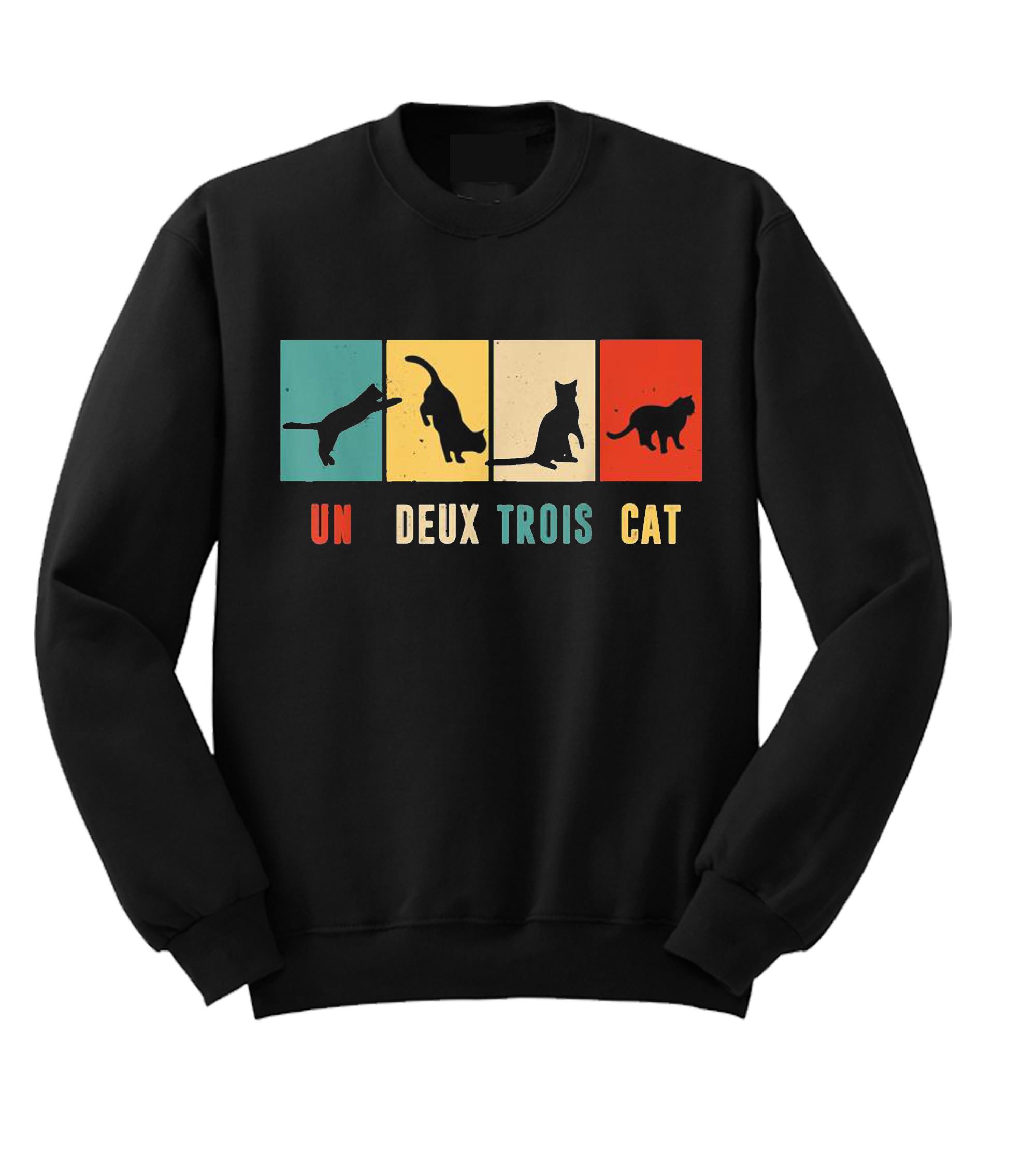 Un Deux Trois Cat SweatshirtUn Deux Trois Cat Sweatshirt