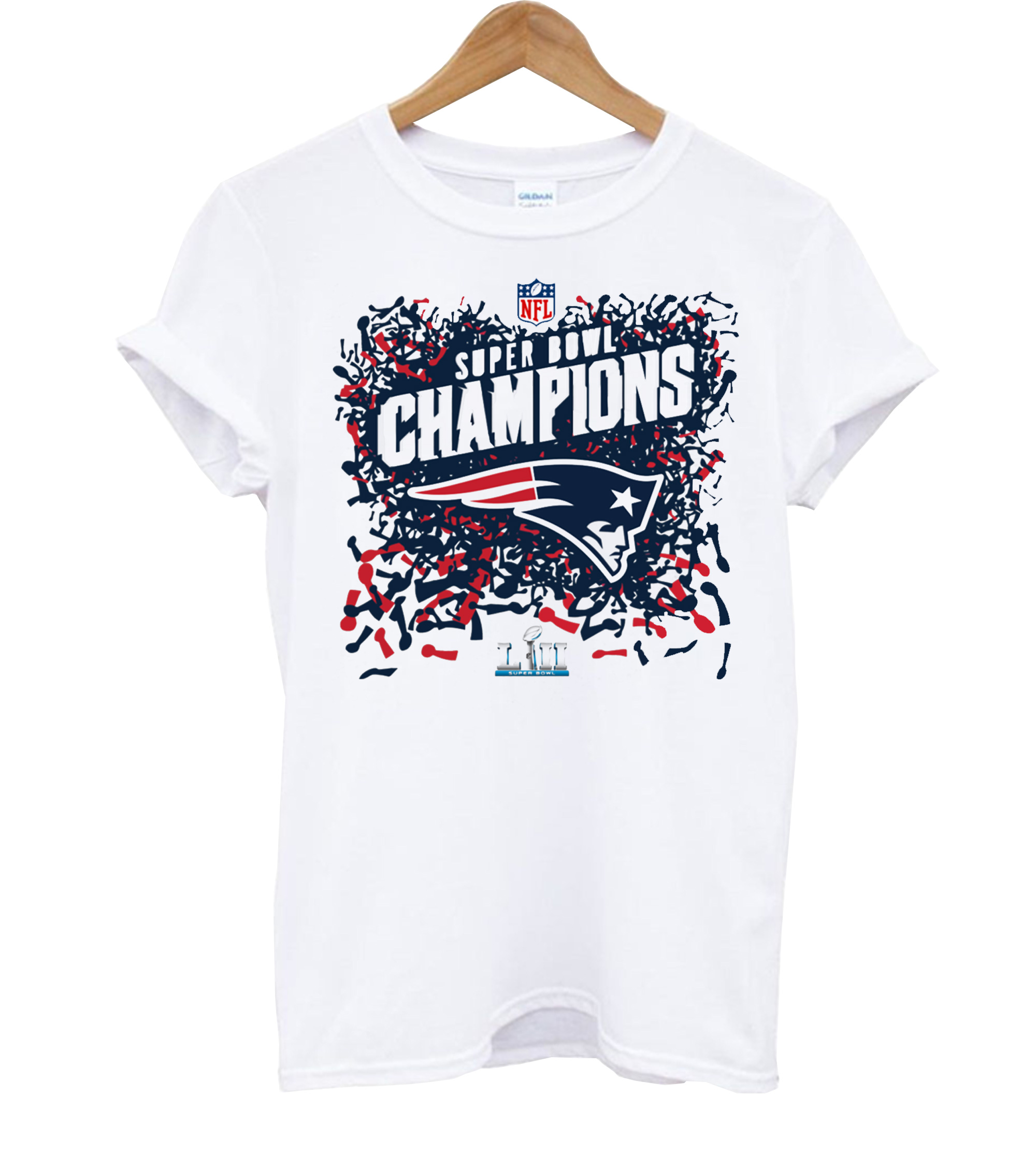 Youth Super Bowl LIII Champions T Shirt