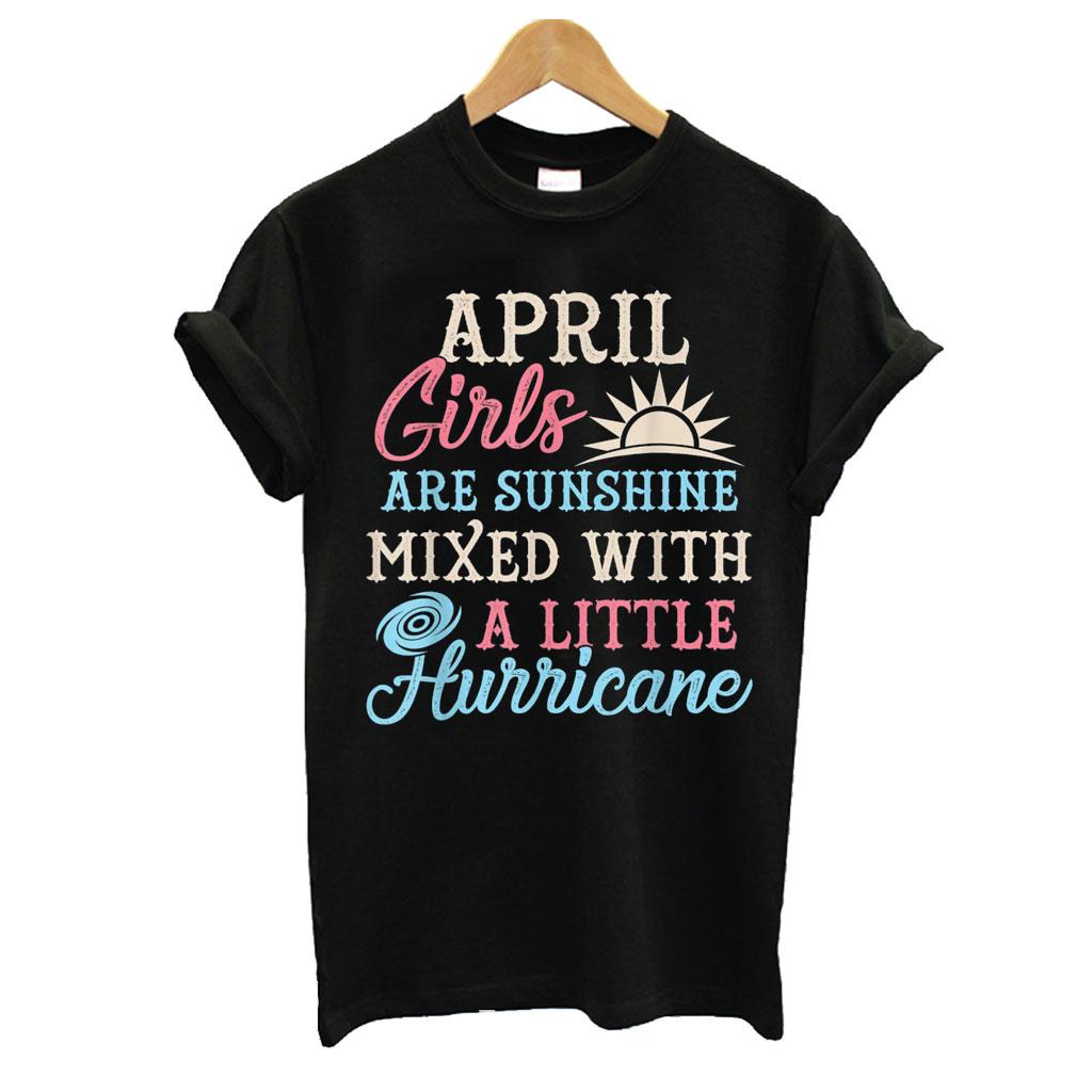 April Girls T shirt
