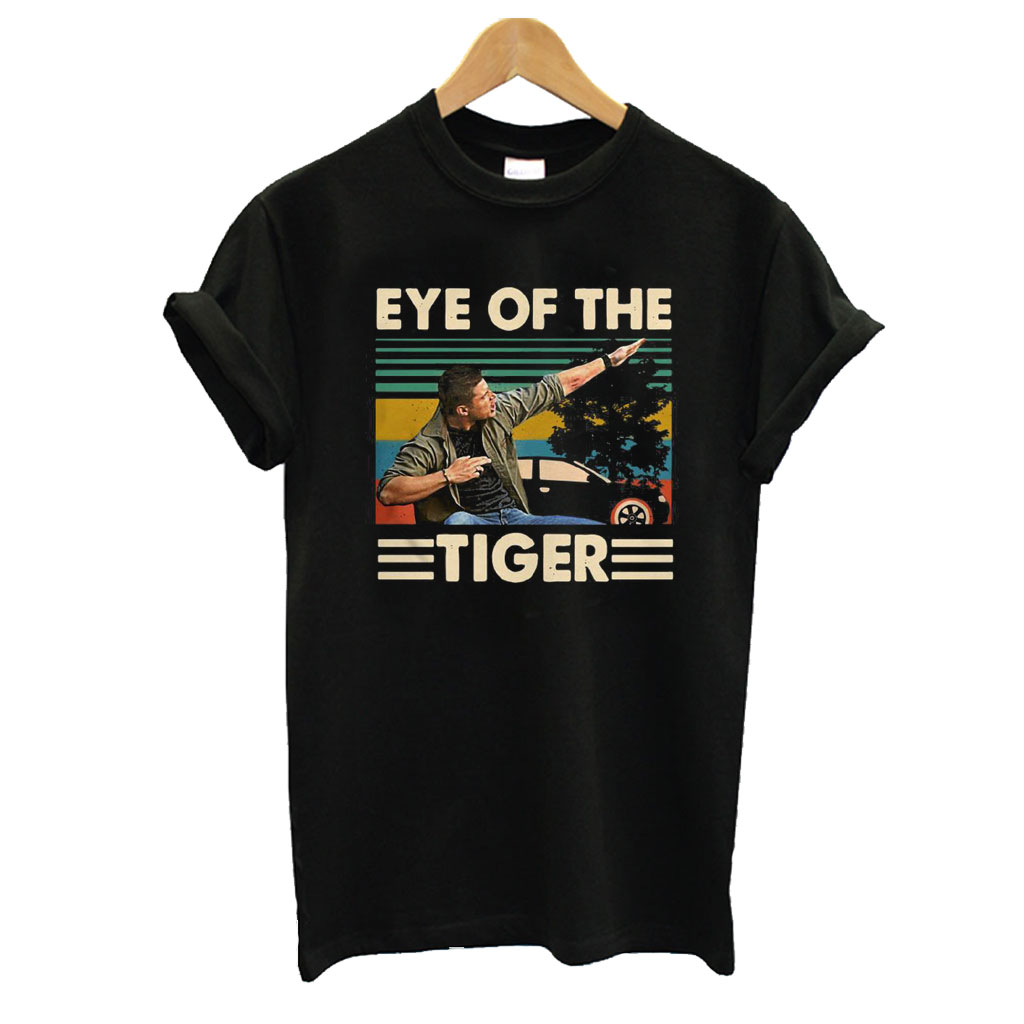 Supernatural Dean Eye of the Tiger T shirt