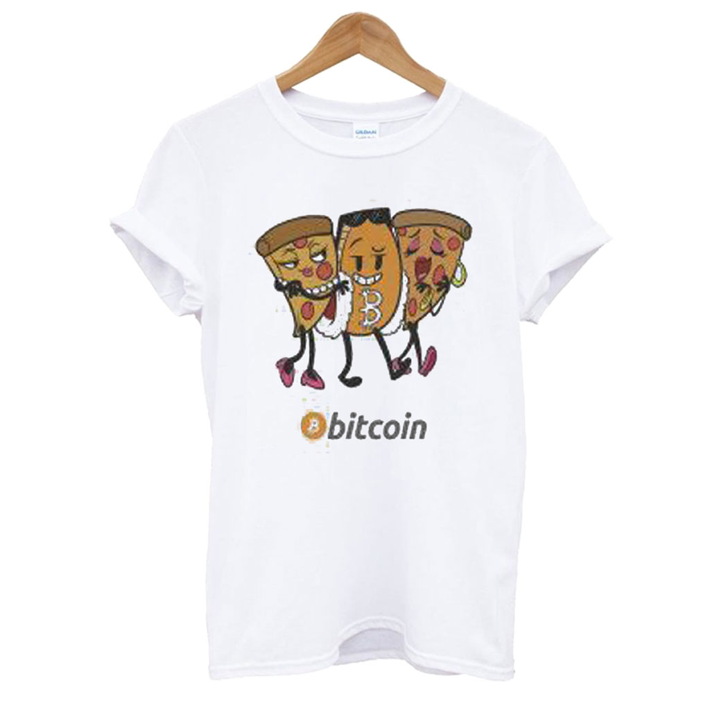 Bitcoin Pizza Hodl T shirt