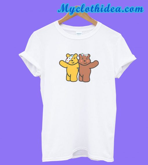 Blush & Pudsey Bear Children In Need T-Shirt